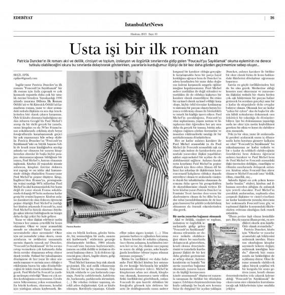 01.06.2015 ON8 İstanbul Art News