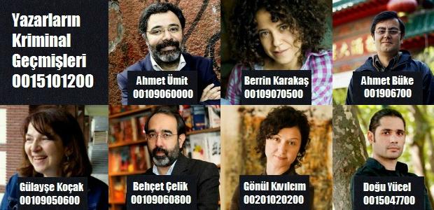 Yazarların kendi kaleminden: Türk Edebiyatının Kriminal Tarihi