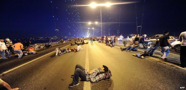 Boğaziçi Köprüsü'nde bir gece… #GeziParkı