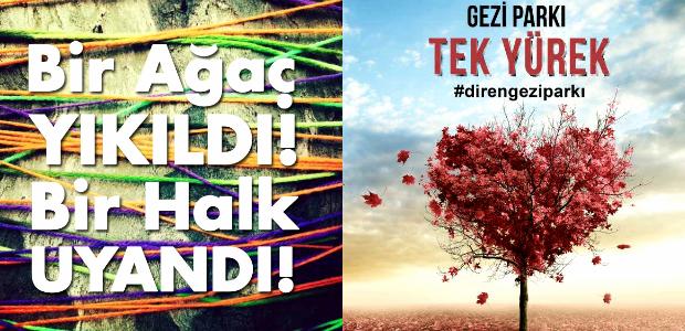 Philip Reeve'den #Gezi'ye destek