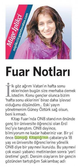 16.11.2013 Vatan Gazetesi