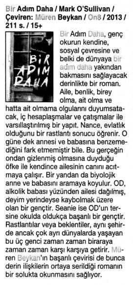 01.05.2014 Cumhuriyet Kitap