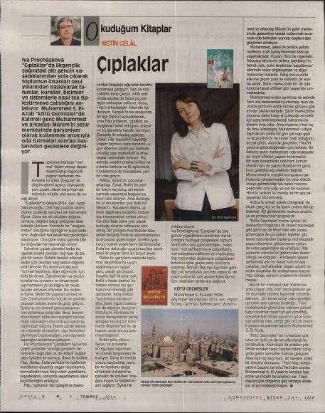 03.07.2014 Cumhuriyet Kitap