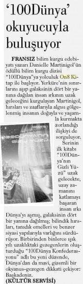 03.07.2014 Evrensel Gazetesi