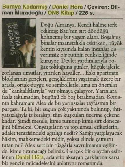 14.08.2014 ON8 - Cumhuriyet Kitap