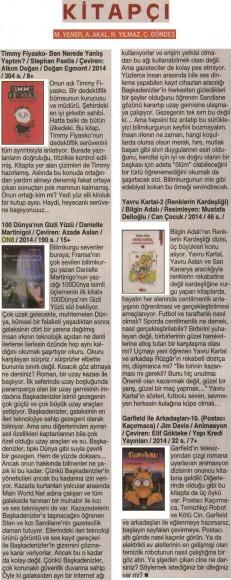 28.08.2014 ON8 - Cumhuriyet Kitap