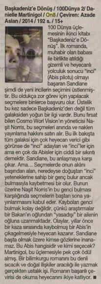 27.11.2014 ON8 -Cumhuriyet Kitap
