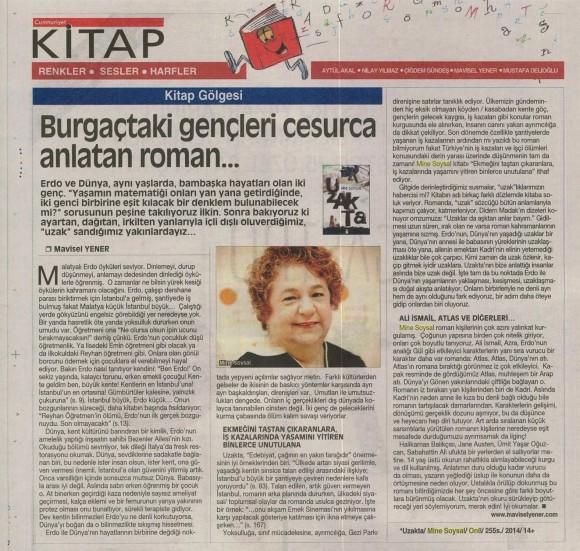 04.12.2014 ON8 - Cumhuriyet Kitap