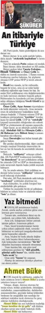 11.10.2015 Hürriyet İzmir