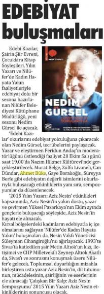 20.10.2015 Bursa'da Meydan
