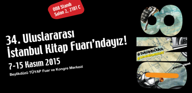 ON8, 34. Uluslararası İstanbul Kitap Fuarı'nda!