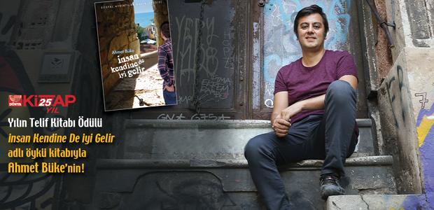 Yılın Telif Kitabı Ödülü Ahmet Büke'nin!