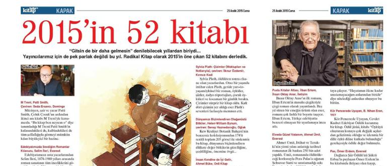 2015'in 52 kitabı