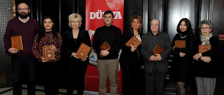 Yılın telif kitabı ödülü Ahmet Büke'ye