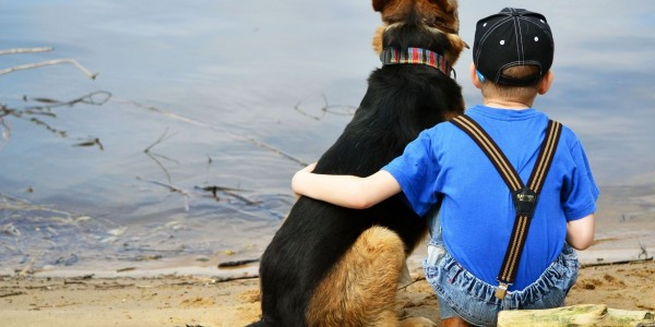animals-kids-dogs-friends