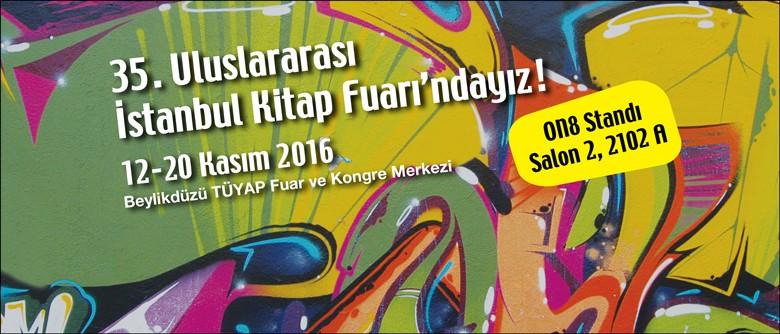 ON8, İstanbul Kitap Fuarı'nda, yeni standında!