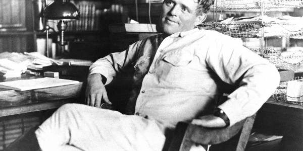 Jack London's 1903 The Call of the Wild was a sensation — it sold one million copies and made London the most popular American writer of his generation. He's shown above in 1916, shortly before his death at age 4