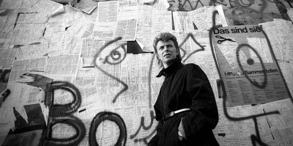 David Bowie at the Berlin Wall, 1987