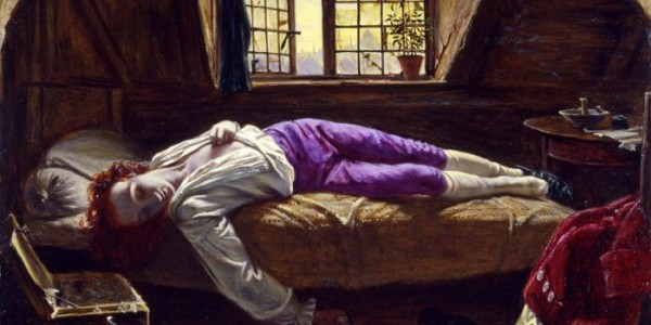 Henry Wallis - Thomas Chatterton