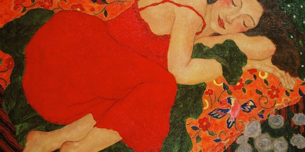 Women-in-Painting-by-Xi-Pan-contemporary-Chinese-artists-contemporary-Chinese-oil-painting