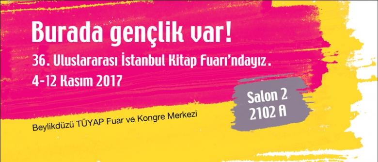 ON8, 36. İstanbul Kitap Fuarı'nda!