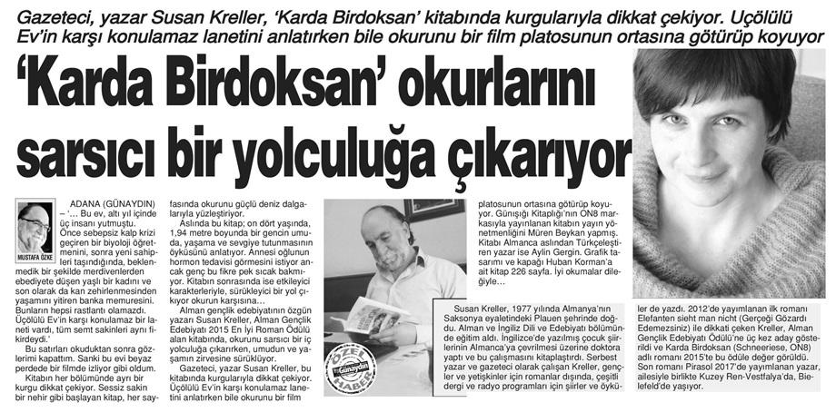22.11.2017 Adana Günaydin