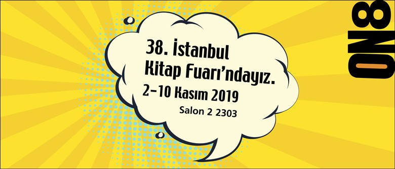 ON8, 38. İstanbul Kitap Fuarı'nda!