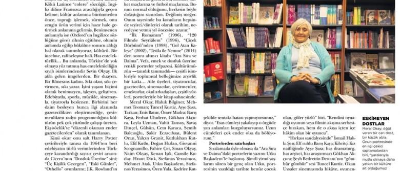 "İstanbul Art News Chronicle – ""Sevin ve dostları…"""